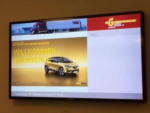 Spezielle Produktschulung des f4y-Teams zur Einführung des neuen Renault Scénic und des neuen Renault Mégane in der Schweiz