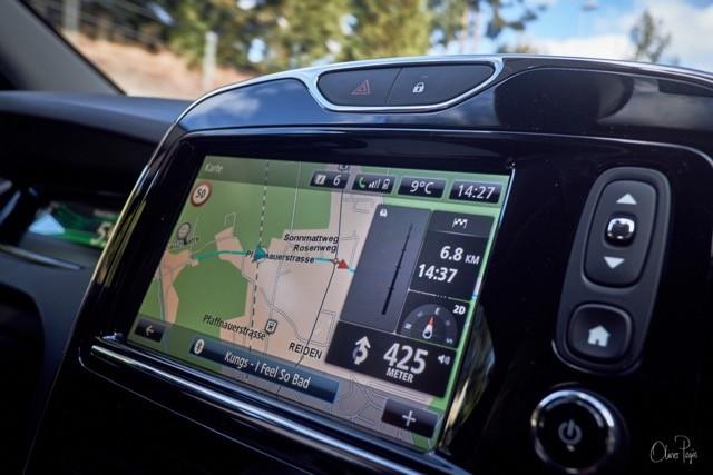 """Mittels Navigationssystem konnten die Teilnehmer die Probefahrten ohne """"Bevormundung"""" durch ein Vorausfahrzeug genießen."""